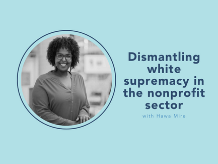 dismantling white supremacy in the nonprofit sector