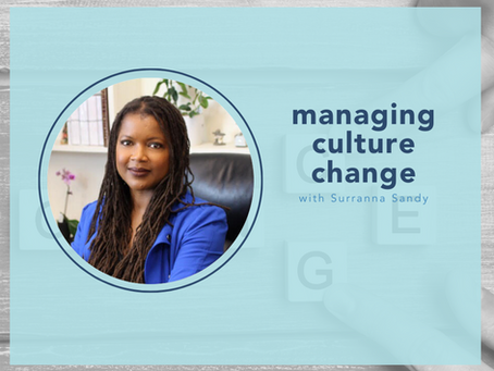 managing change with Surranna Sandy