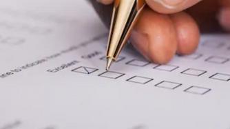 Service feedback survey