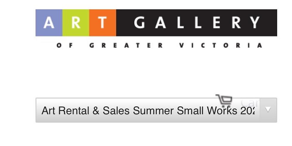 Art Rental & Sales Summer Small Works 2020