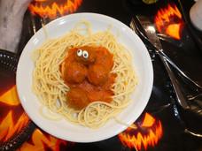 Abendessen als Augenschmaus