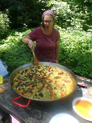 köstliche Paella