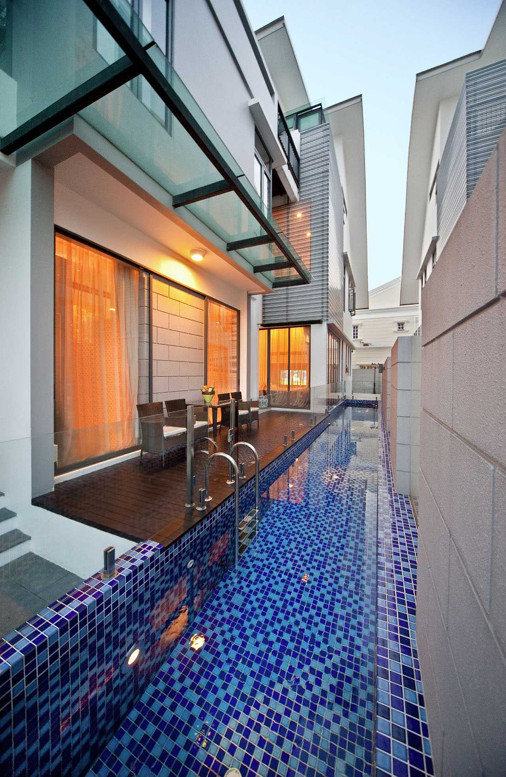 Parkstone Road - Residential Property Singapore - Timeless Designs - Outdoor - Pool - Outdoor Setting - Best Interior Design Singapore - Designworx Interior Consultant