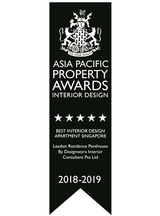 Asia Pacific Property Awards l Best Interior Design l Apartment Singapore l Designworx Interior Consultant