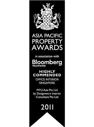 Asia Pacific Property Awards l Highly Commened l Office Interior l Designworx Interior Consultant
