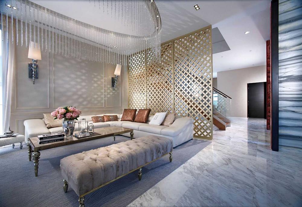modern classic interior design singapore, designworx interior design consultant