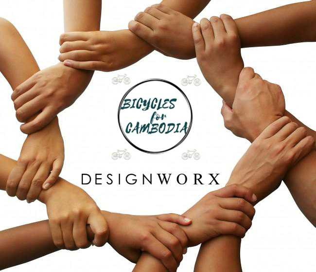 The Life You Can Help - Bicycle for Cambodia - Designworx Interior Consultant - Interior Designer Singapore