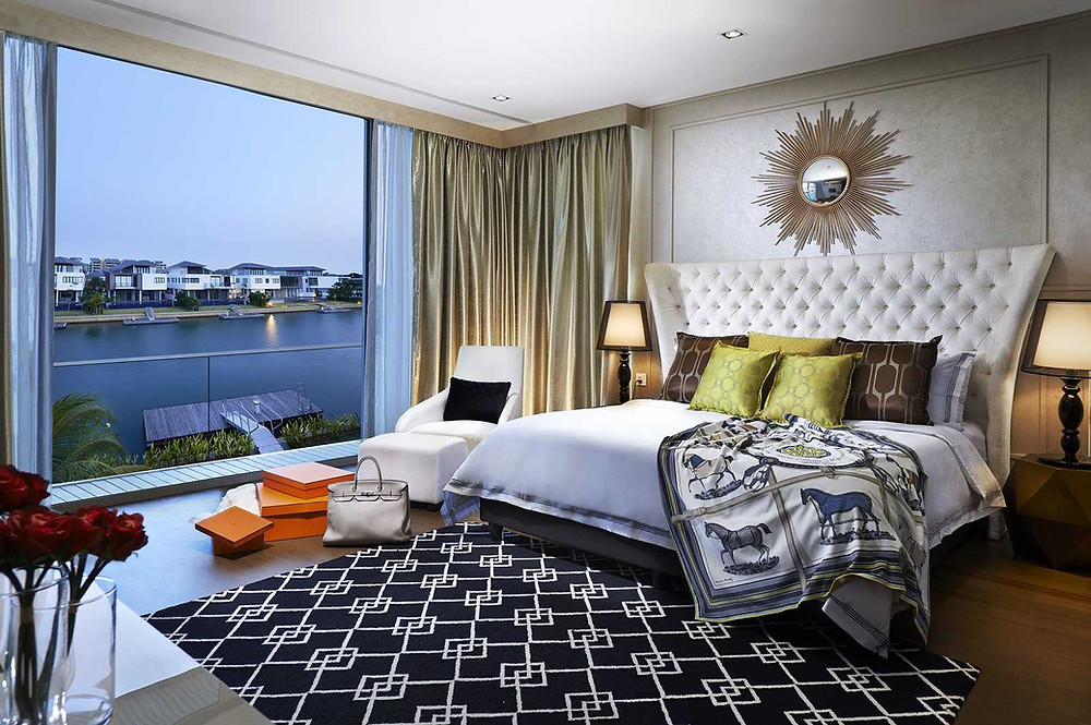 Luxury Interior Design l Traditional Luxury Style l Holiday Home l Cove Drive Singapore