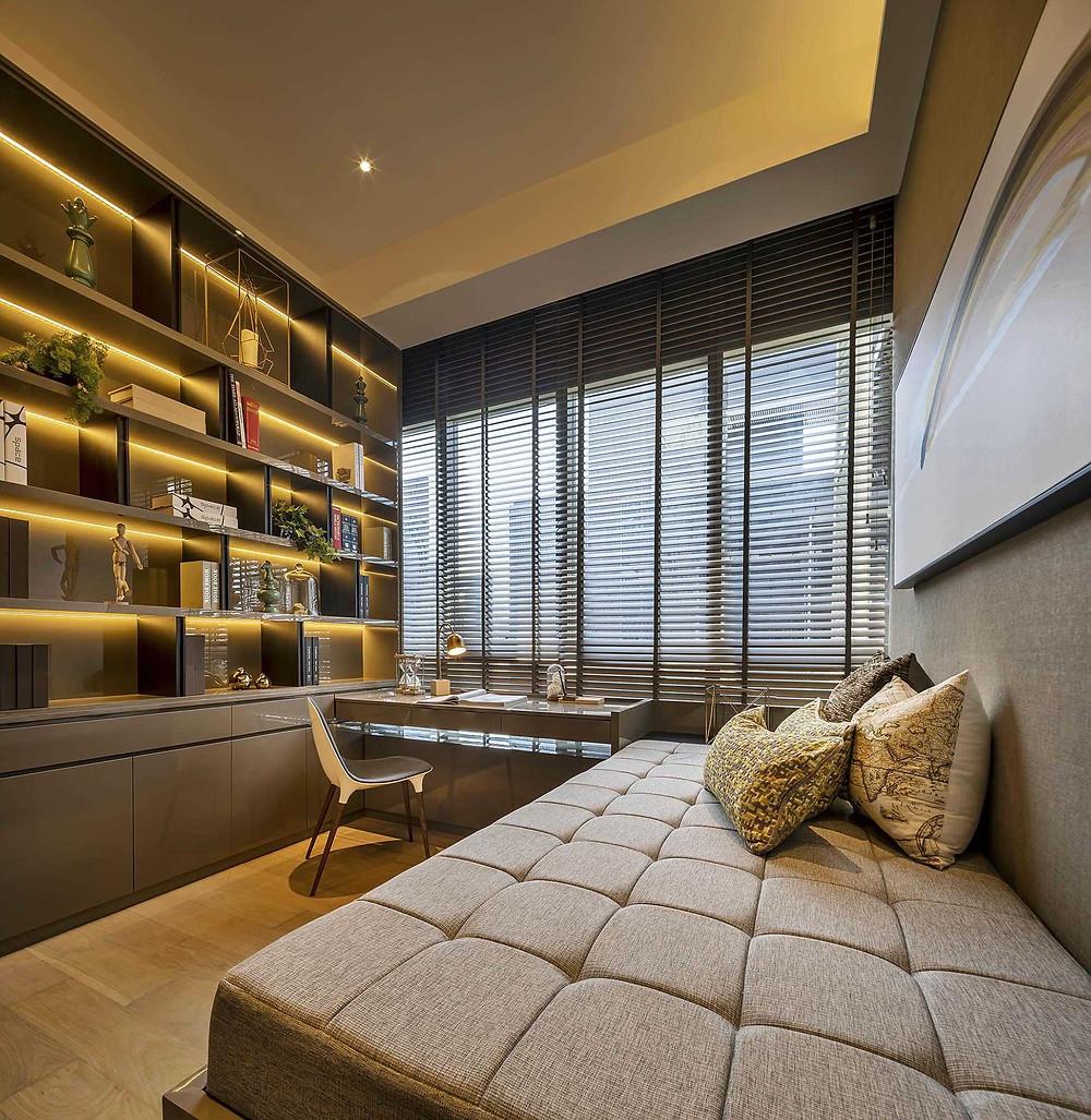Leedon Residence II - Study Room