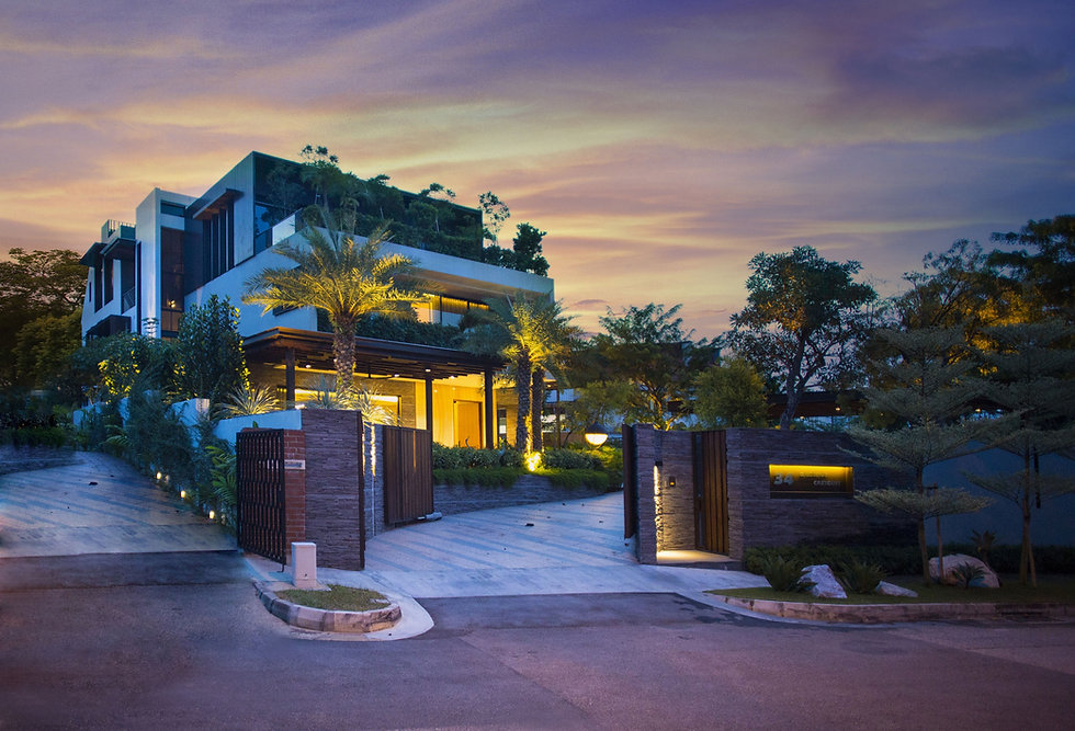 Designworx l Chestnut Crescent l Landed House Singapore