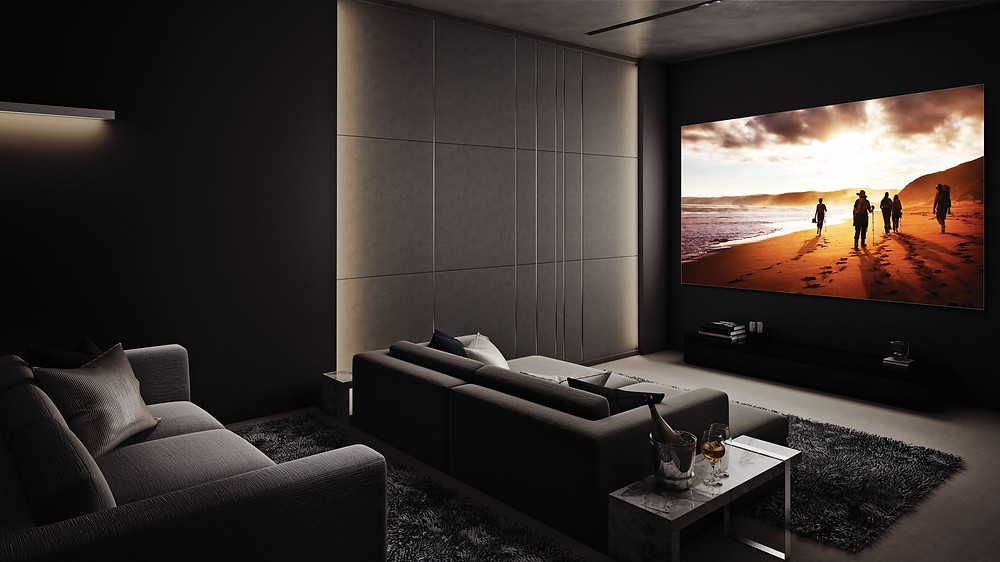 The Wall and its brilliant display makes it ideal for homeowners searching to recreate a cinema-like setting at home