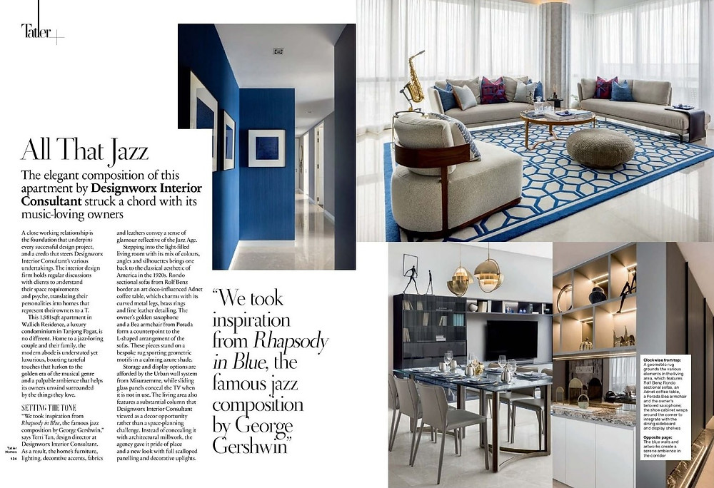 tatler homes singapore, wallich residence, interior design, designworx