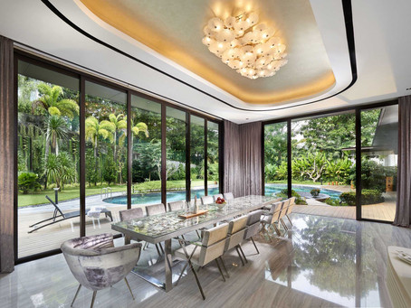 Dining rooms for Good Class Bungalows (GCBs) and Landed Properties