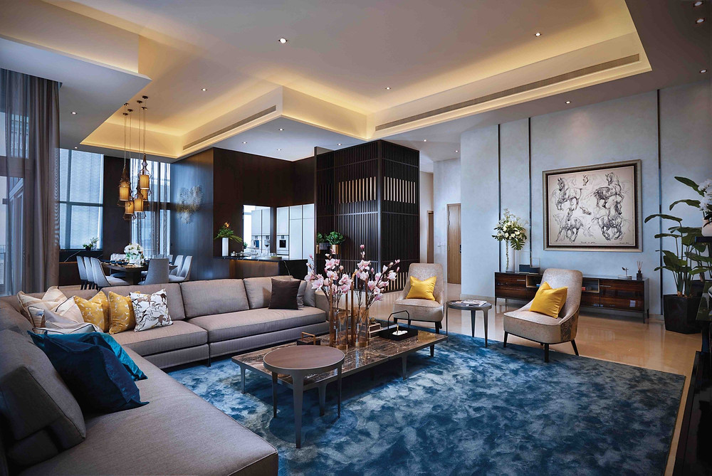 Luxury Interior Design l V on Shenton Penthouse l Best Penthouse Project Singapore