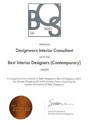 BOS 2021 certificate