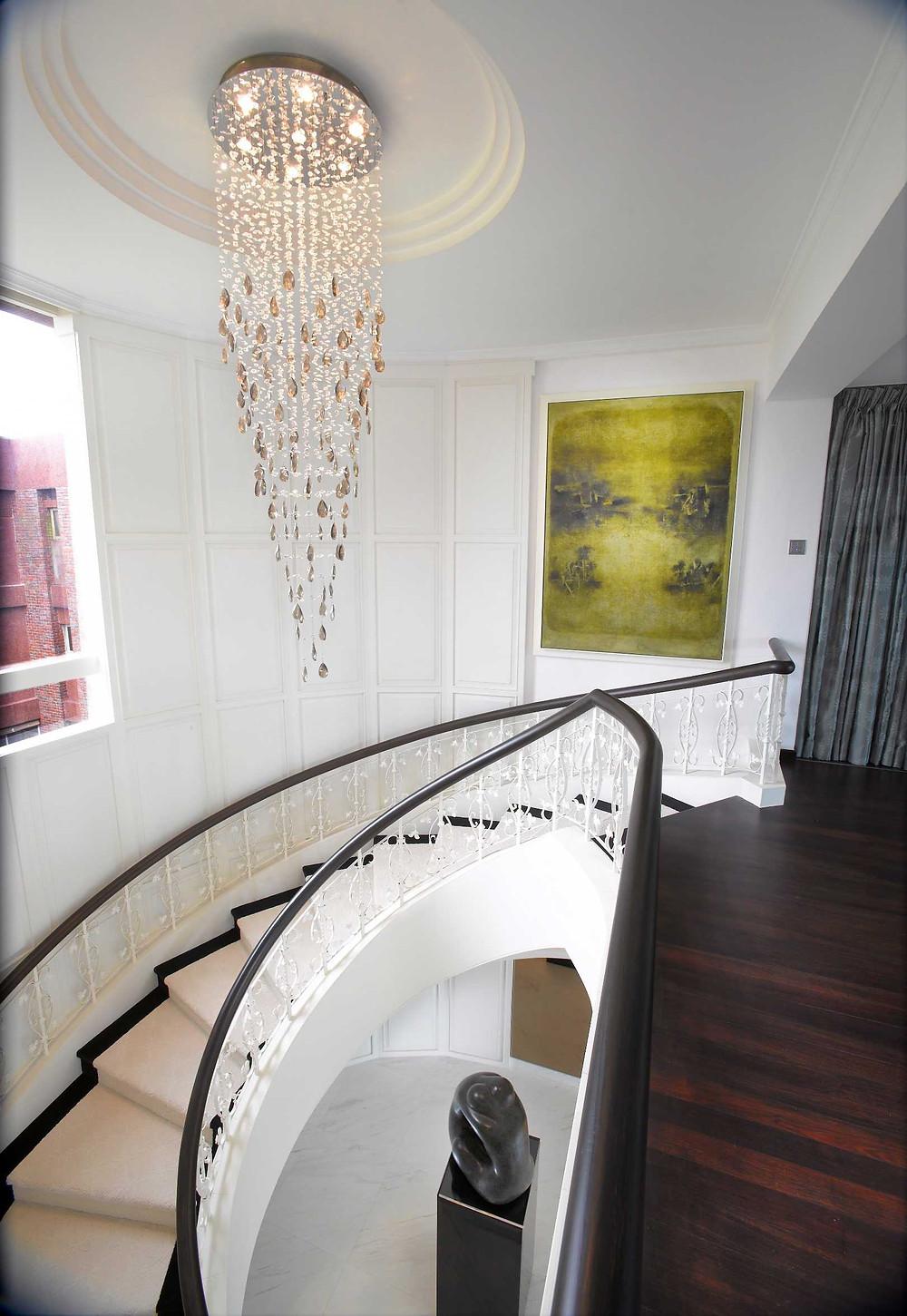 Bespoke Lighting l Nassim Mansion l Penthouse
