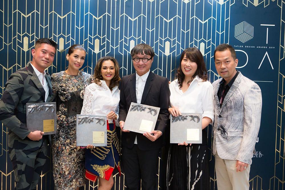 Singapore Tatler Design Awards 2019, Jeremy Tay, Andrea Savage, Nikki Hunt, Edmund Ng, Terri Tan, Michael Ong