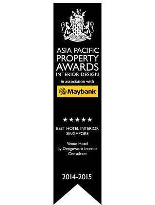 Asia Pacific Property Awards l Best Hotel Interior l Apartment Singapore l Designworx Interior Consultant