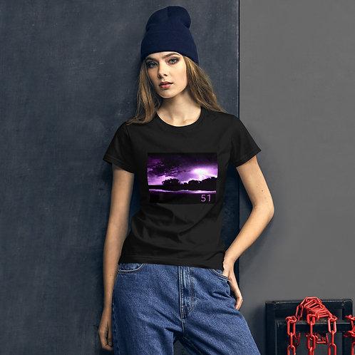 51 The Series Purple Lightning Women's short sleeve t-shirt