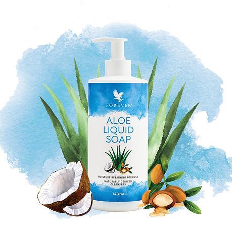 Savon Liquide Aloe
