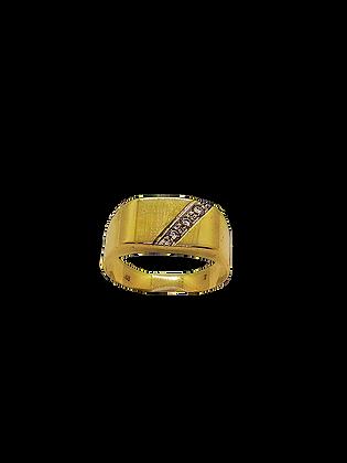 Vintage Siegelring aus Gelbgold