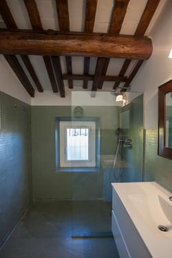 Reforma bany masia (gresite)