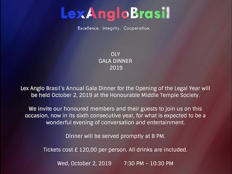 Lex Anglo-Brasil OLY Dinner