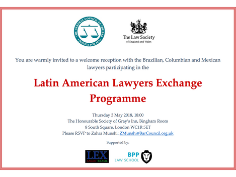 Latin American Lawyers Exchange Programme