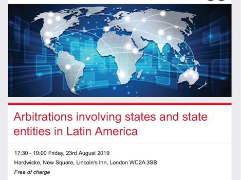Arbitrations involving states and state entities in Latin America