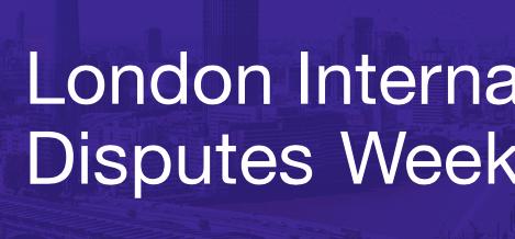 London International Disputes Week (LIDW)