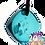 Thumbnail: Mini Aqua QBC Pendant