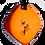 Thumbnail: Orange QBC Pendant