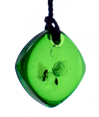 Mini Green QBC Pendant