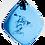 Thumbnail: Blue QBC Pendant