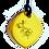 Thumbnail: Mini Yellow QBC Pendant