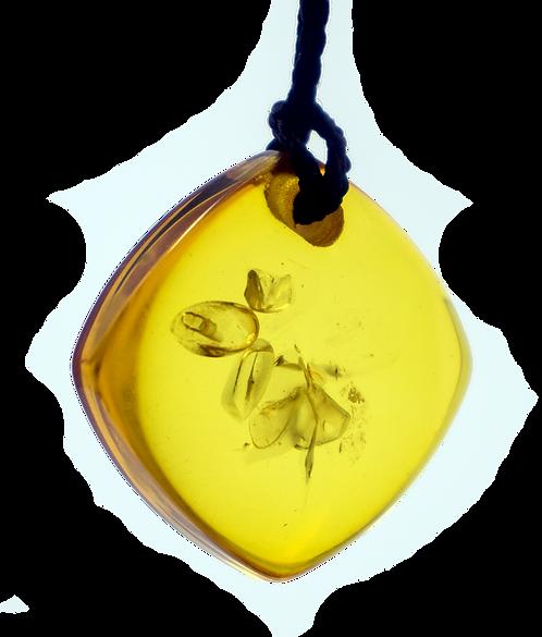 Mini Yellow QBC Pendant