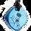 Thumbnail: Mini Blue QBC Pendant