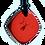 Thumbnail: Mini Red QBC Pendant