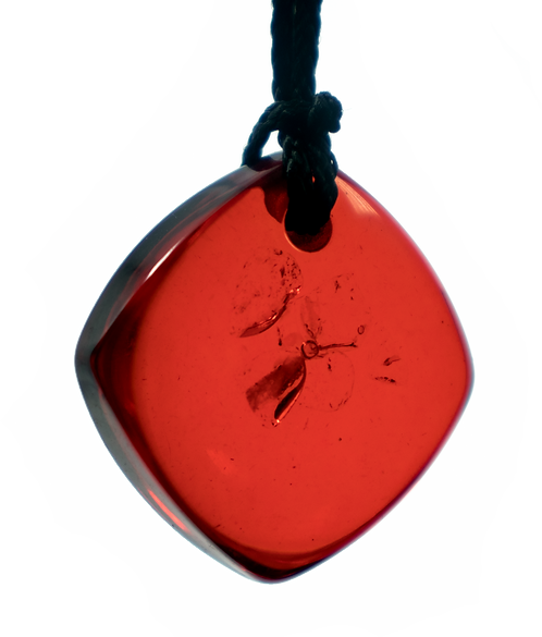 Mini Red QBC Pendant