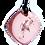 Thumbnail: Mini Pink QBC Pendant