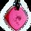 Thumbnail: Mini Magenta QBC Pendant