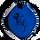 Thumbnail: Indigo QBC Pendant