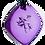Thumbnail: Mini Purple QBC Pendant