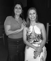 Karla Pereira Ribeiro e ana Claudia Amar