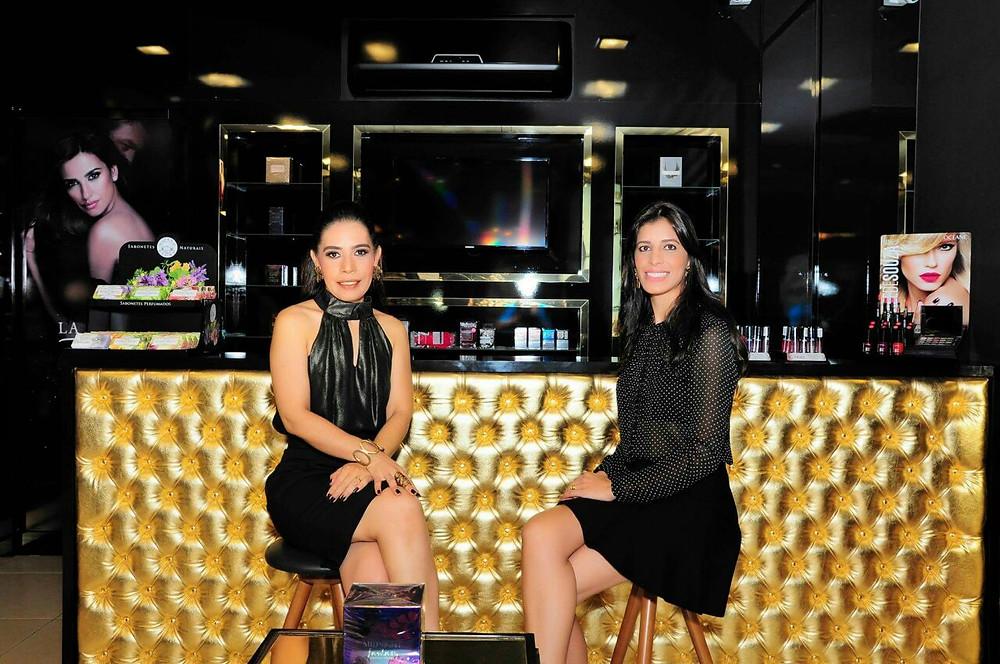 Sinara Moreira e Sheila (Proprietária Flair Parfumerie)