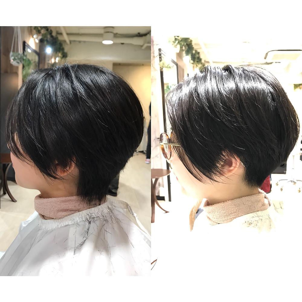女子の刈り上げスタイル♬ Ruxus Komazawa