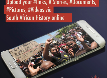 Student movement - Contribute links, documents, pictures and videos with SAHO