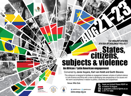 Videos and Pictures from the colloquium on 'States, citizens, subjects and violence'