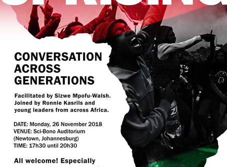 Africa Uprising: Conversation Across Generations - Public Event