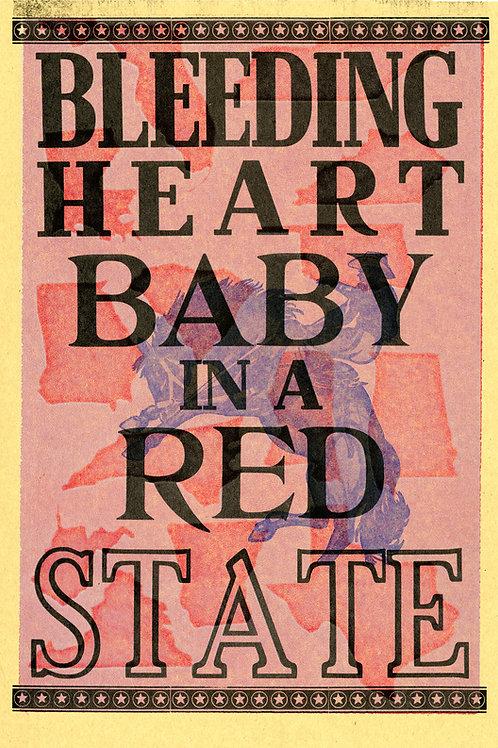 Bleeding heart baby